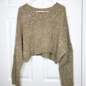 Don't Ask Why American Eagle cropped sweater